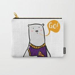 GO BEAR! Carry-All Pouch