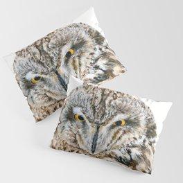 Short-Eared Owl by Teresa Thompson Pillow Sham