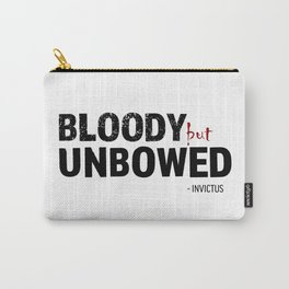 BLOODY BUT UNBOWED Carry-All Pouch