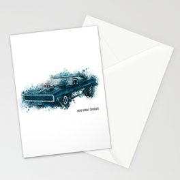 1970 Dodge Charger Stationery Cards