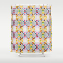 Garlands of colorful balls Shower Curtain