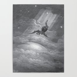 Gustave Dore: Paradise Lost XII Poster