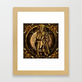 For Egypt Framed Art Print