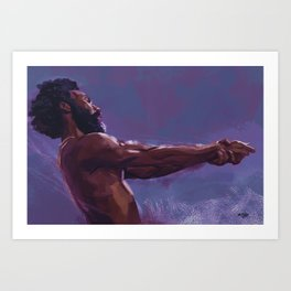 This is America Art Print