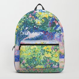 "Henri-Edmond Cross ""Around My House (Near a House)"" Backpack"