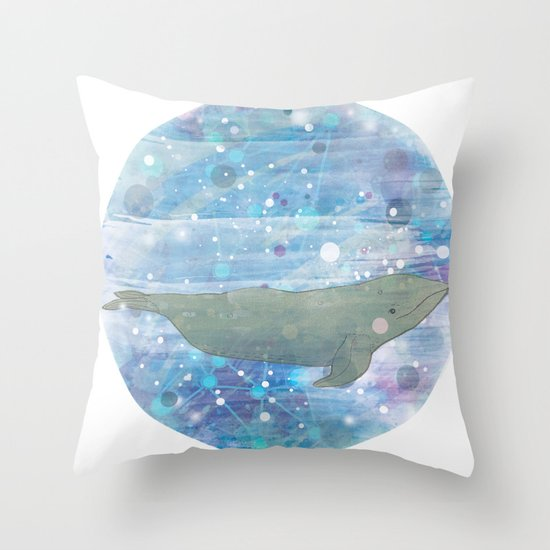 Illustration Friday: Round Throw Pillow