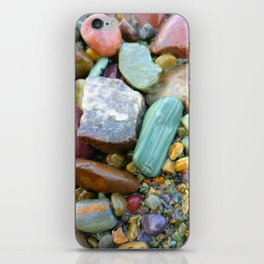 Rainwashed Stones iPhone Skin
