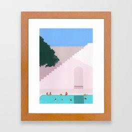 Greece Bliss Framed Art Print
