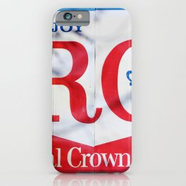 RC Cola Sign iPhone Case
