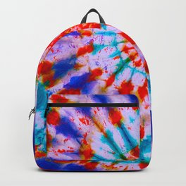 Tie Dye Motifs Backpack