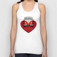 van Tank Tops featuring Van Love by RubyRed