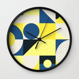Japanese Patterns 12 Wall Clock