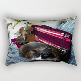 The Cat and the Fiddle (Gracie Queen of Chicago Collection) Rectangular Pillow