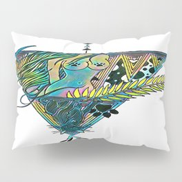 Regality (neon alternate) Pillow Sham