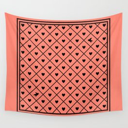 Never Far Away (colors: setting sun) Wall Tapestry