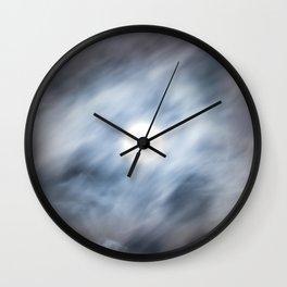 La Lune est Pleine Wall Clock