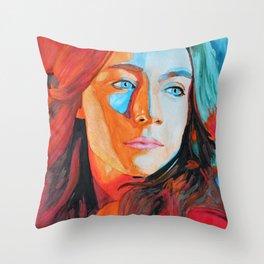 Saoirse Ronan Throw Pillow