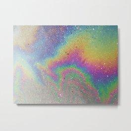 Rainbow shine Metal Print
