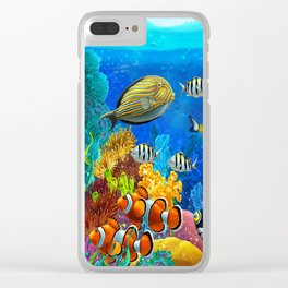 Heart of the Atlantic Clear iPhone Case
