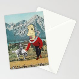 MY LIFE IS GOOD! Stationery Cards