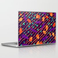 psychadelic Laptop & iPad Skins featuring Psychadelic Natural Pattern #5 by Andrej Balaz