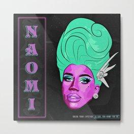 QUEEN NAOMI SMALLS RETRO Metal Print