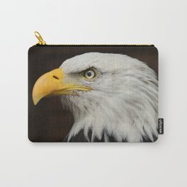 Eagle Photography | Nature | Wildlife Art | American | Rustic Wall Art | Animal Photography Carry-All Pouch