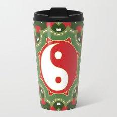 Holiday Festive Balance Yin Yang Travel Mug
