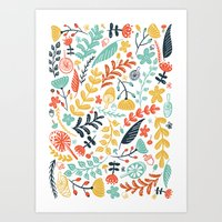 Forest Flora Art Print