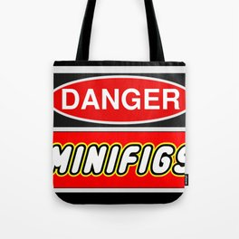 Danger Minifigs by Chillee Wilson Tote Bag