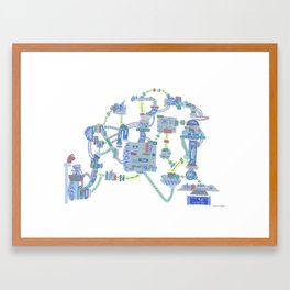 Intellectual Capital Ushers in 90-Calorie Snack Packets, Too...So Yeah Framed Art Print
