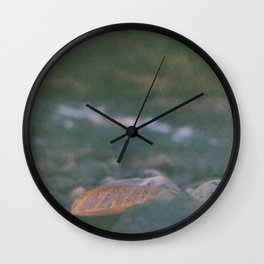 Quietly waiting. Wall Clock