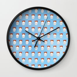 Baby's On Fire Wall Clock