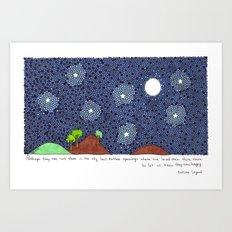 Leyenda Eskimal Art Print