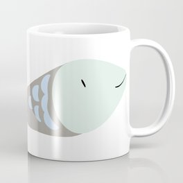 Fish GREY and BLUE Coffee Mug