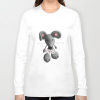 rat Long Sleeve T-shirts featuring Rat by Laurel