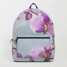 Watercolor Orchids Backpack