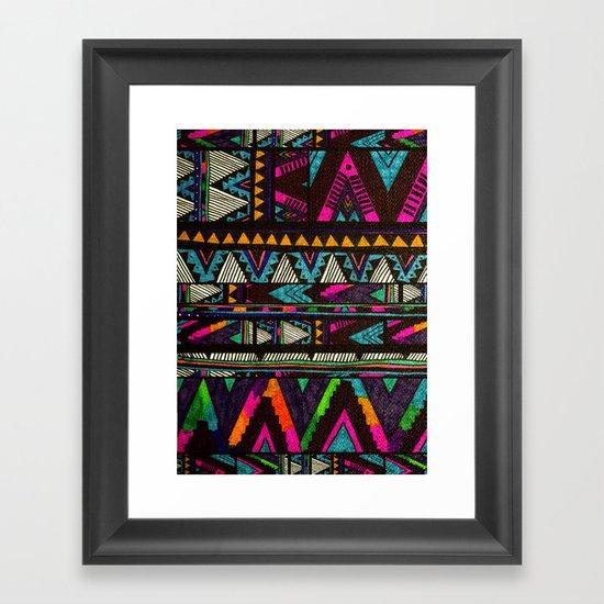 ▲HUIPIL▲ Framed Art Print