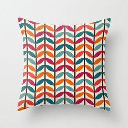 Optical Overlap #1 Throw Pillow