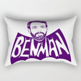 the Ben Man Rectangular Pillow