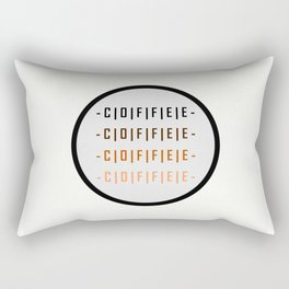 Coffee - How do you like yours? Rectangular Pillow