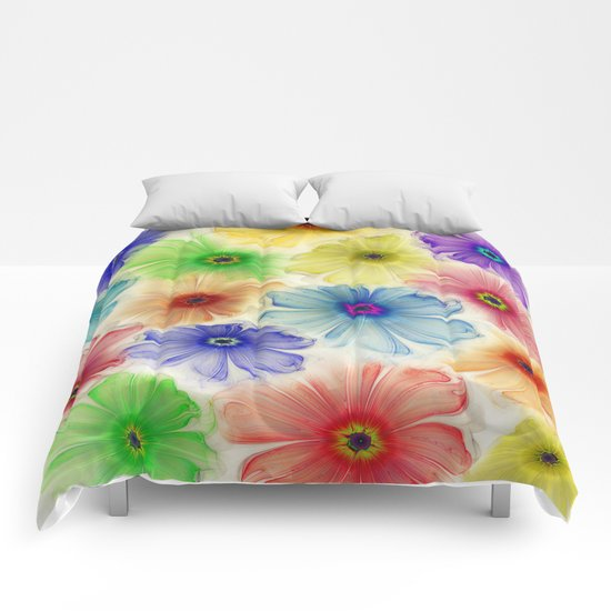 Flowers for Eternity Comforters