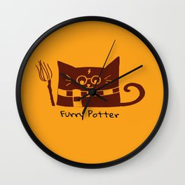 Furry Potter  Wall Clock