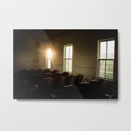 Sanctuary Golden Hour Metal Print
