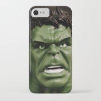 hulk iPhone & iPod Cases featuring Hulk by Beastie Toyz