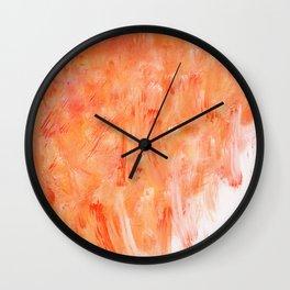 DIGITAL ORANGE Wall Clock