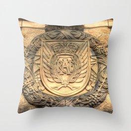 Royal Airforce Insignia Throw Pillow