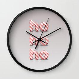 Christmas Candy Wall Clock