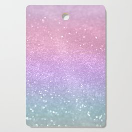 Unicorn Princess Glitter #1 (Photography) #pastel #decor #art #society6 Cutting Board