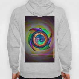 Abstract in perfection 121 Hoody